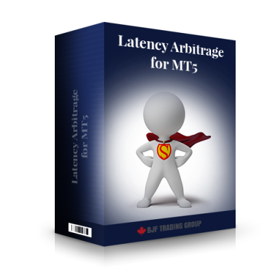 Latency Arbitrage MT5 EA