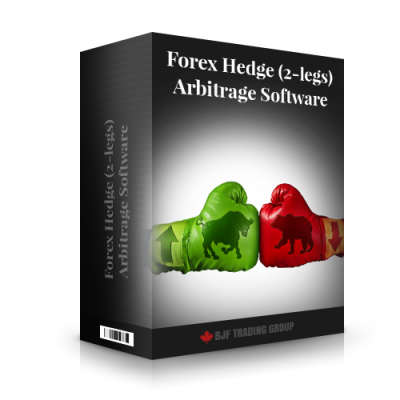 Forex Hedge (2-legs) Arbitrage Software