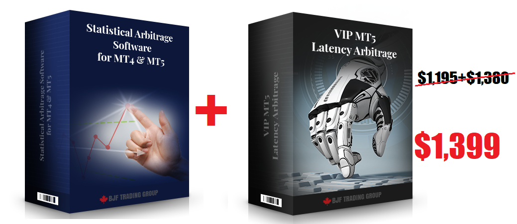 Statistical Arbitrage + MT5 Latency