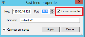 direct feed ultra fast connect