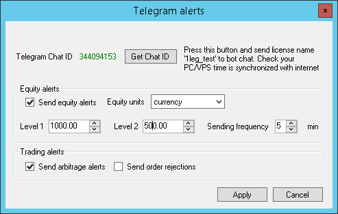 VIP Latency Arbitrage Telegram Alerts