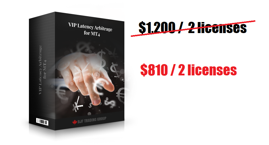 VIP MT4 Latency Arbitrage Deal