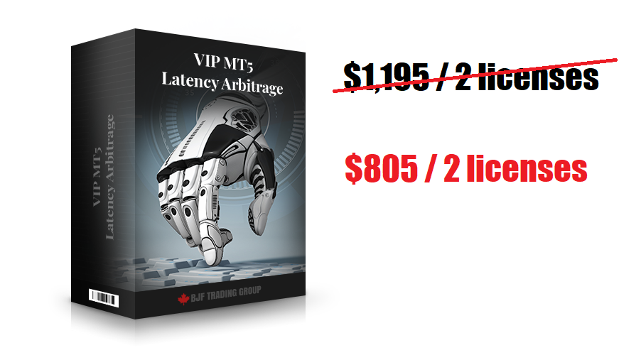VIP MT5 Latency Arbitrage Software Deal