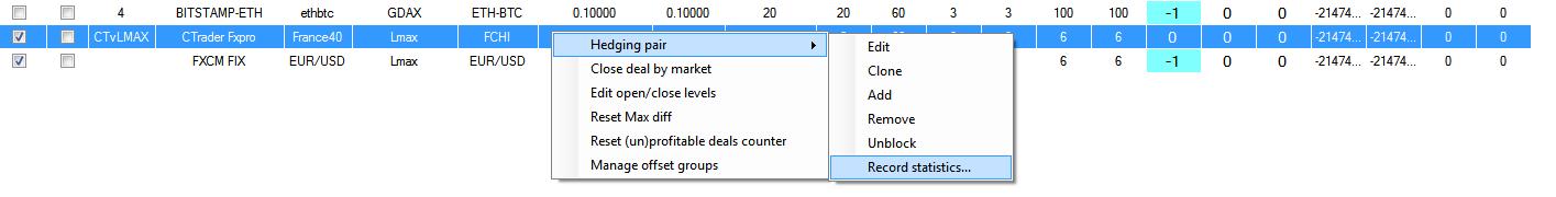hedge arbitrage software stats
